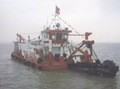 400kw Assembled bucket wheel dredger